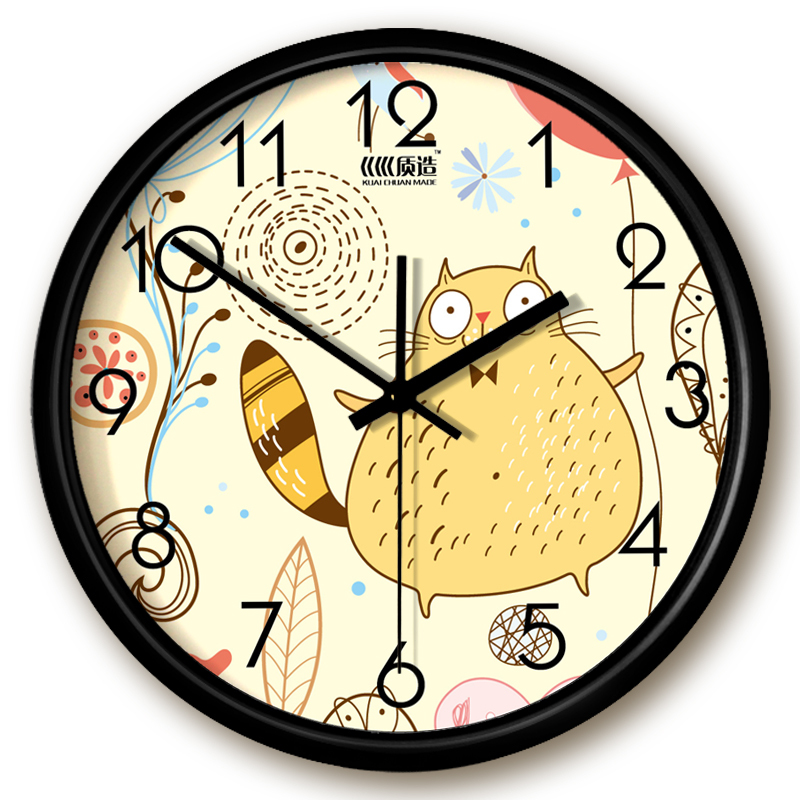 Fashion Simple Wall Clock Creative Wall Clock Made Huan
