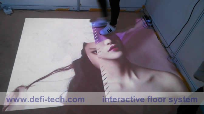 Interactive floor projection system and 118 effects, 3D interactive projection display system,(China (Mainland))