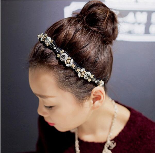 Fashion women headbands hairbands for female's hair accessories headwear 1pcs/lot girls ladies headwear 2016(China (Mainland))
