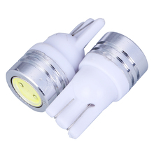 Buy 20pcs/lot T10 W5W LED Bulbs 194 168 COB Xenon White Parking Interior Side Dashboard License Light Lamp Car Styling for $5.00 in AliExpress store