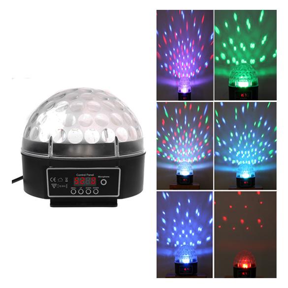 Crystal Ball LED 120 Degree Party Light Black 512 Display Board Fantastic 88 E --M25(China (Mainland))
