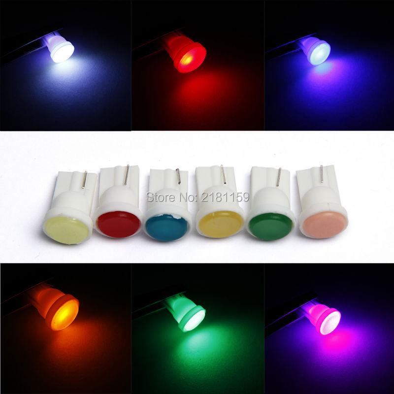 Wholesale 20Pcs T10 COB car led light fog mirror W5W canbus external bulbs DC12V clearance lamps festoon backup lights source(China (Mainland))