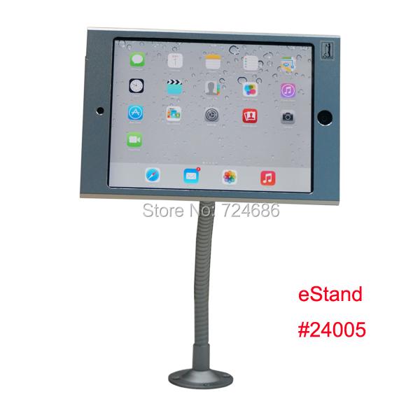 Estand для мини iPad с замком стенд с гибкой кронштейн стены дисплей гусенек опоры поддержки гора