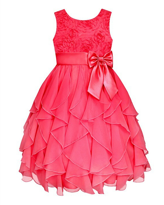 Real picture! 2015 Hot Summer Girls Wedding Party Princess Dresses,Kids Korean Fashion Girls Christmas Dress,Baby Girls clothes(China (Mainland))