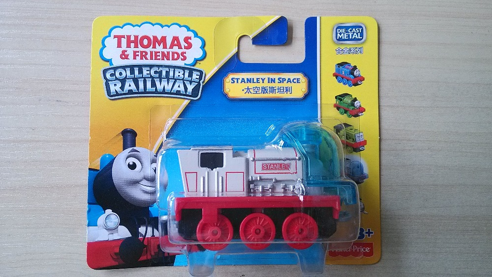 1:64 new style die cast 1 : 64 Diecast model Thomas and friends with hook trainmaster stanley(China (Mainland))