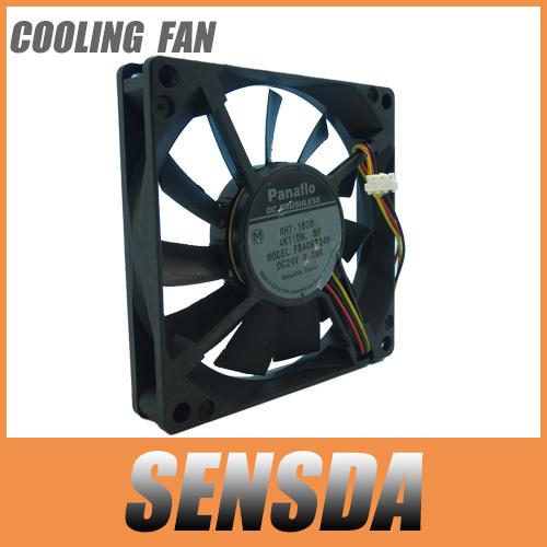 Panaflo 8015 80*80*15 FBA08T24H 24V 0.19A Genuine 3P inverter server pc case cooling fan(China (Mainland))