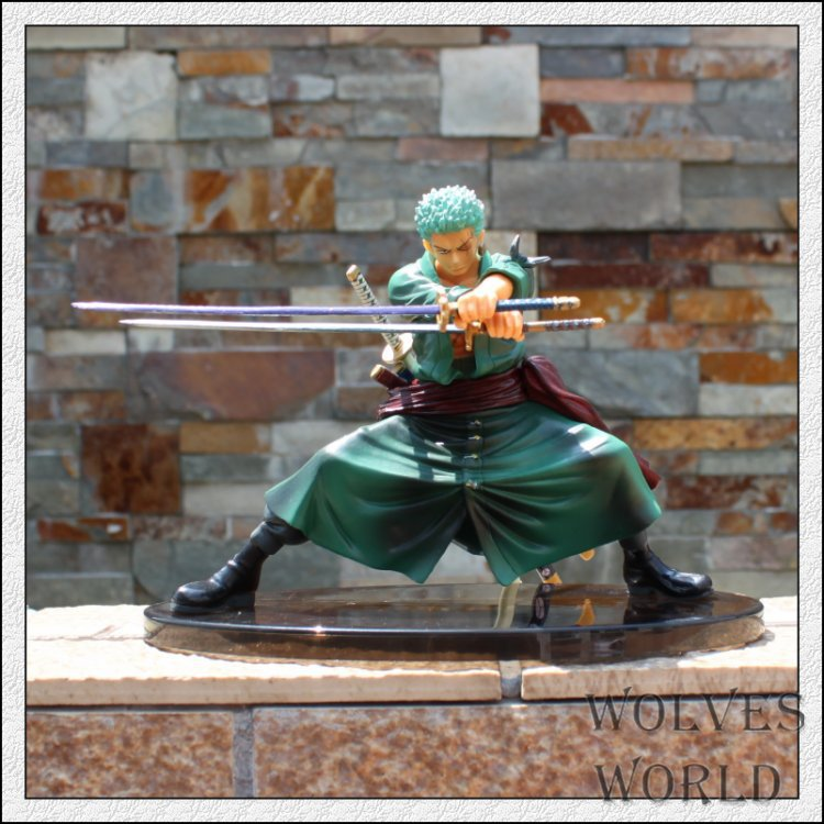1pcs/set One Piece Roronoa Solon Zoro Cool Decisive Battle Version New World Luffy Japan Monkey D Model Brinquedos PVC Boxed(China (Mainland))