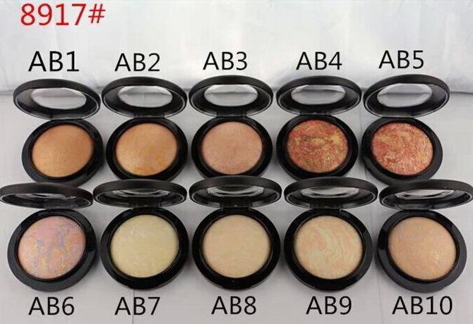 Hot Sales New Makeup MINERALIZE SKINFINISH NATURAL FACE POWDERS 10g(2pcs/lot)(China (Mainland))