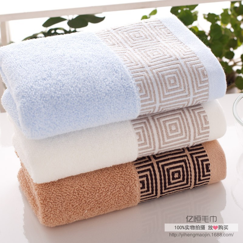 High quality face towel home hotel sports quick dry towel printed fashion kitchen towel cotton 33*74cm(China (Mainland))