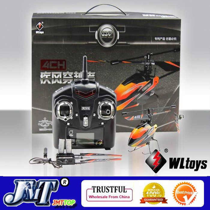 F02412 V911 4CH 4 Channel 2.4G Outdoor Mini Radio Control Single Propeller RC Helicopter Gyro RTF Best Gift Toy + FS(China (Mainland))