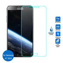 Защитное закалённое стекло 2.5D 9H для Samsung Galaxy A5 A7 2016 A510F A710F A7100