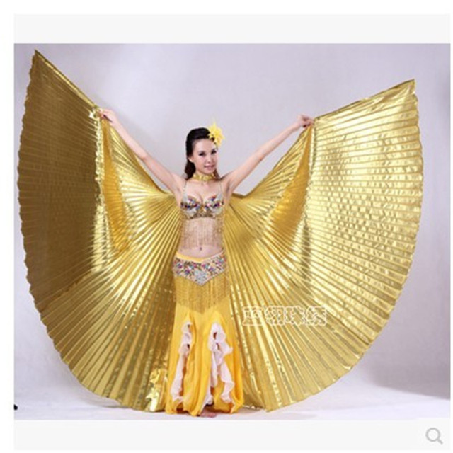 how to make belly dance isis wings
