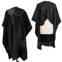 U119 1PC Black Hair Cutting Adult Salon Barber Hairdressing Hairdresser Cape Gown Clothes(China (Mainland))