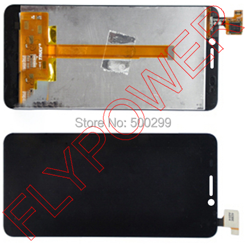100% warranty LCD Display  with Touch Screen Digitizer Assembly  For Alcatel Idol S OT-6034 OT6034 OT6034D by free shipping