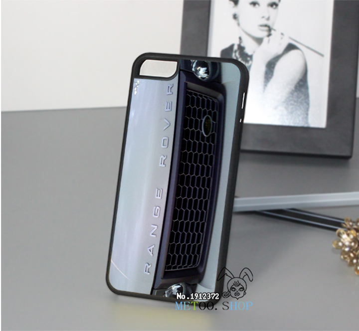 for White Range Rover Grill Cool Car original cell phone case cover for iphone 4 4S 5 5S se 5c 6 6 plus 6s 6s plus 7 7 plus(China (Mainland))