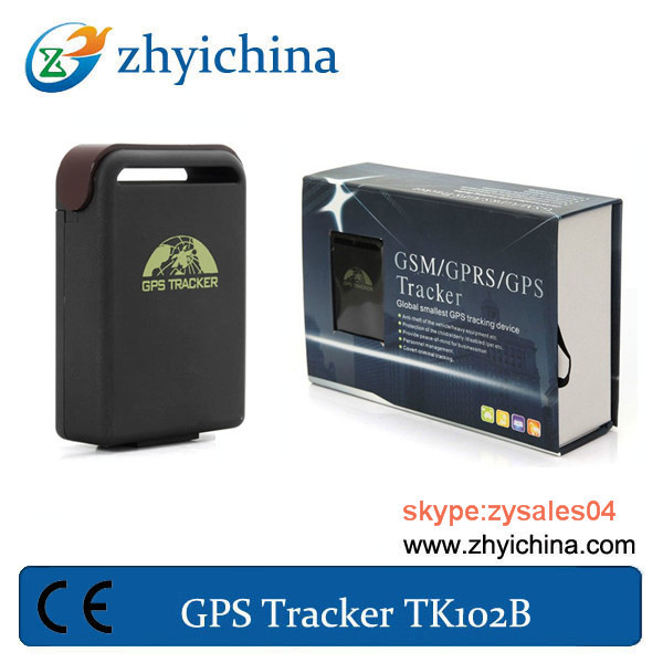 gps tracker manufacturers gps locating device tk102 with online google maps(China (Mainland))