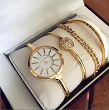 Buy Women Rhinestone Watch Luxury brand set Crystal Ceramic Watches steel Quartz Wristwatches Lady Dress Watch relogio feminino for $29.76 in AliExpress store