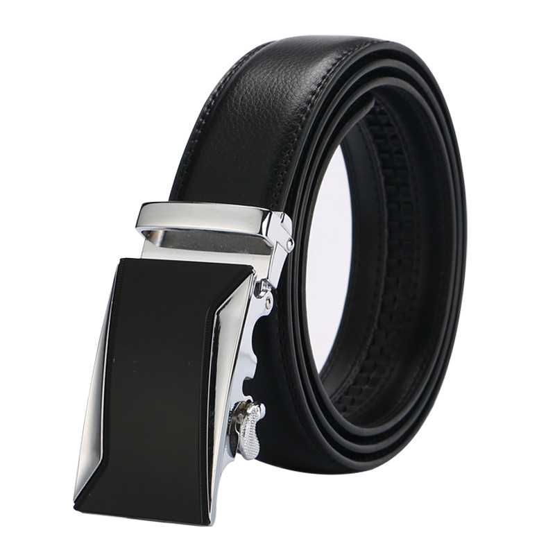 HTB1g2q5QFXXXXXsapXXq6xXFXXXu - Free shipping 2017 men's fashion100% Genuine Leather belts for men High quality metal automatic buckle Strap male Jeans cowboy