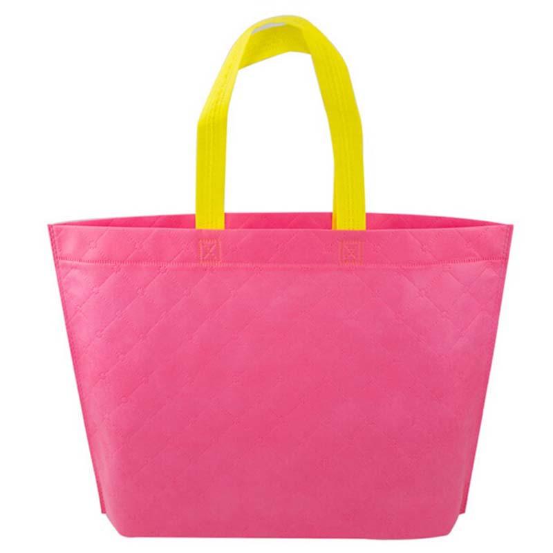 Best Price Korean Women Reusable Market Fabric Shopping Bag Tote Shoulder Bag Pouch(China (Mainland))