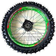 """60/100-14 GuangLi Tyre Front Dirt Bike Pit Bike Racing Full Wheels 1.40-14""""  Inch Alloy Rim with 32 holes Tyres PIT PRO KTM CRF (China (Mainland))"""