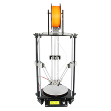 Geeetech Newest All Metal Delta Rostock mini G2 Pro 3D Printer High Resolution Impressora LCD For Free