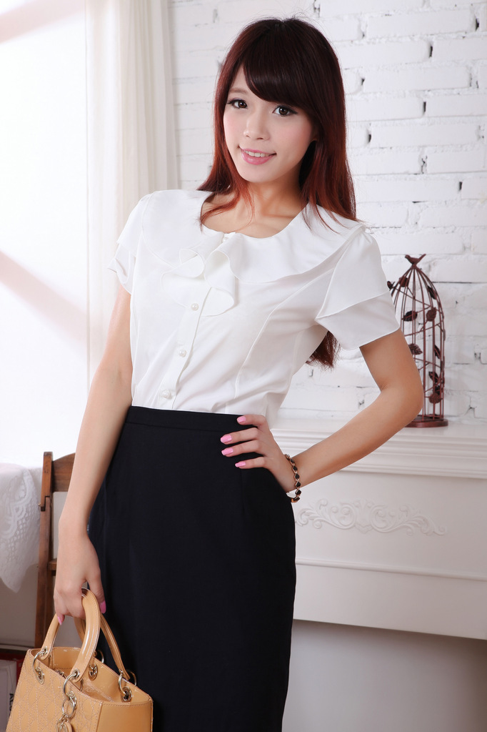 Womens Smart Black Blouse 83
