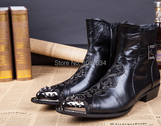 dress shoes steel toe Picture - More Detailed Picture about Black ...