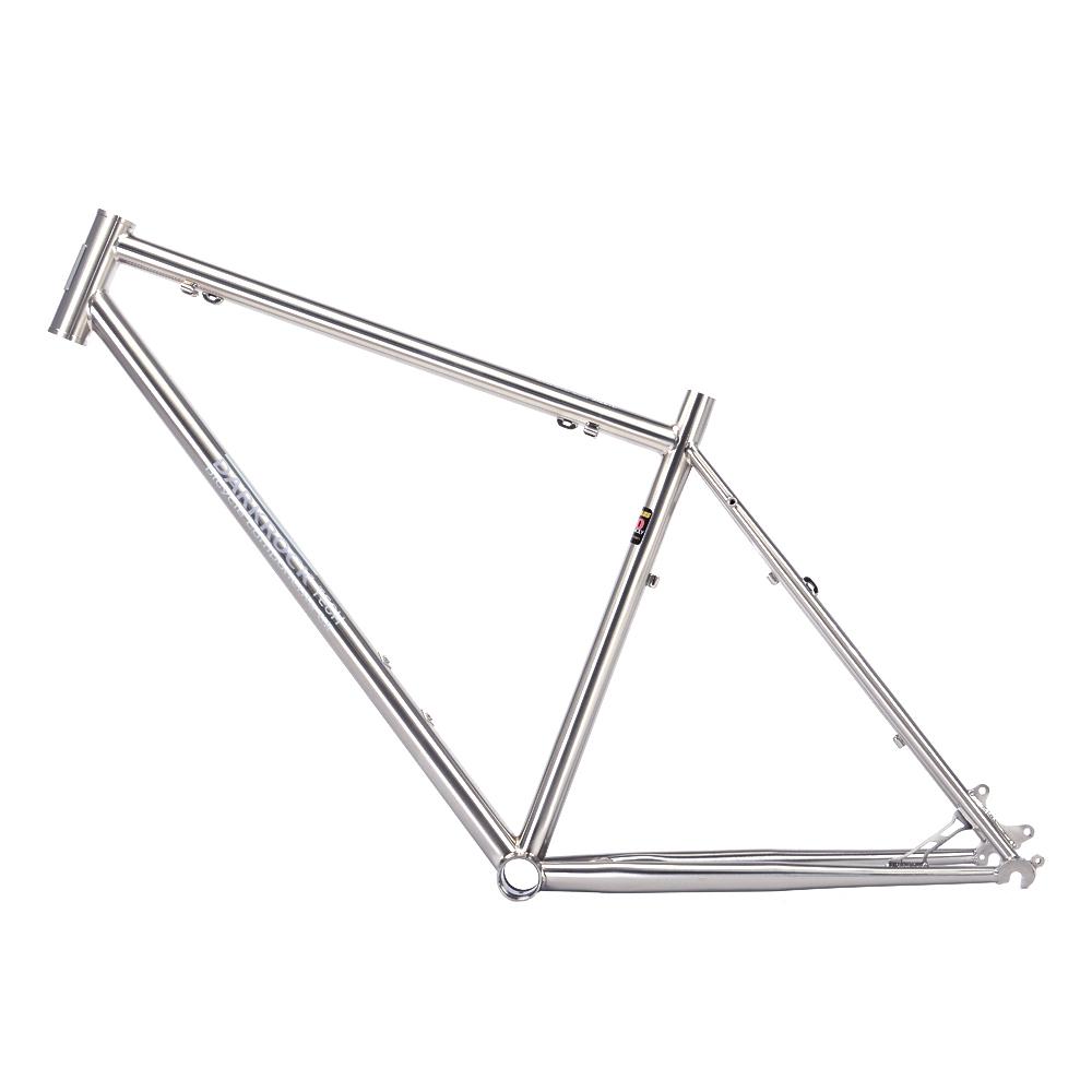 "DARKROCK 26"" MTB Mountain Bike Frame Travel Bicycle Frame Chrome-Moly Reynolds 520 Size M 17""(China (Mainland))"