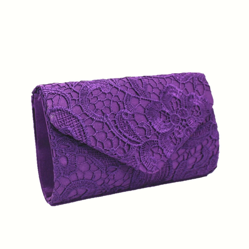Pochette Soirée Fleurie : New elegant design pochette soiree lace crochet day