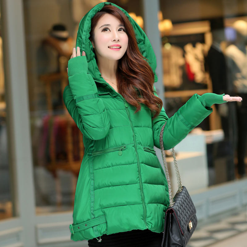 Down Wadded Jacket Women Plus Size Winter Coat Womens Clothing Casual Coat Jacket Loose Parkas Hoodies Jaquetas Femininas C1389Одежда и ак�е��уары<br><br><br>Aliexpress
