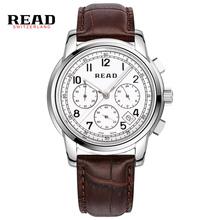 Switzerland Watches Men Luxury Brand Wristwatches Read Quartz Watch Chronograph Diver Glowwatch PR70