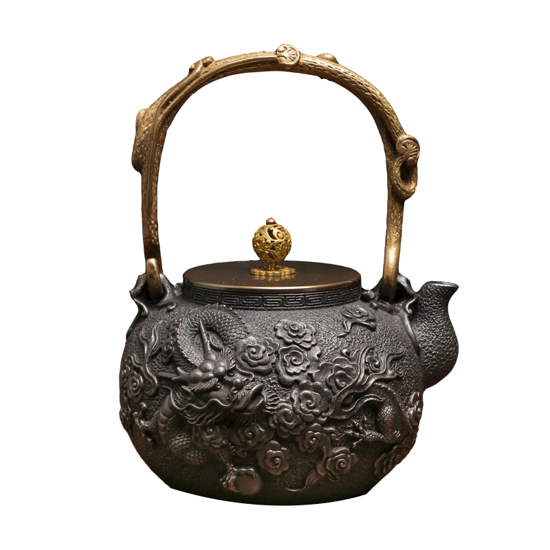 Popular cast iron dragon buy cheap cast iron dragon lots from china cast iron dragon suppliers - Elephant cast iron teapot ...