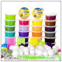 24 шт. красочные пластилин для детей дети европейский стандарт безопасности мягкая игра тесто игрушки Fimo полимерная глина обучения и образования