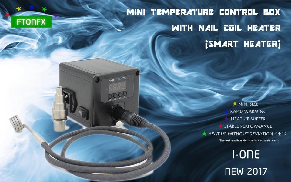 ถูก (NEW2017, I-ONE, BULE) POWER120V 150วัตต์,มินิกล่องควบคุมอุณหภูมิเล็บเครื่องทำขดลวด,อิเล็กทรอนิกส์บุหรี่,ผู้ผลิตโดยตรง!