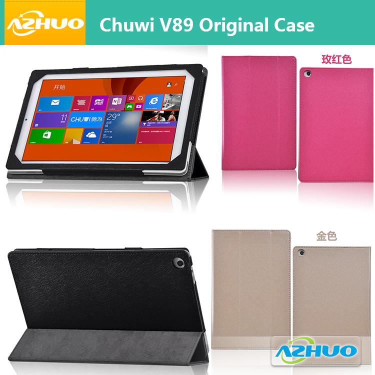 Freeshipping Оригинальный Кожаный чехол для Chuwi V89 Tablet pc 8.9 7-дюймовый Ультра Тонкий Планшетный Стенд Чехол для Chuwi V89 3 г Таблетки