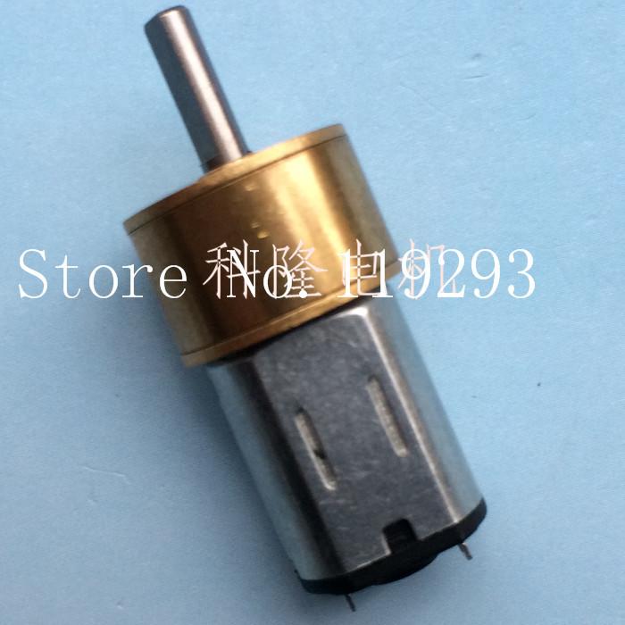[BELLA] [-] 14MM round mini dust reduction gear reducer N20 DC gear motor motor  --10PCS/LOT<br><br>Aliexpress