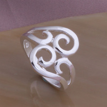 J174  New Designer Silver Ring For Women New 2014 Fashion Jewelry Free Shipping Supernova Sale(China (Mainland))