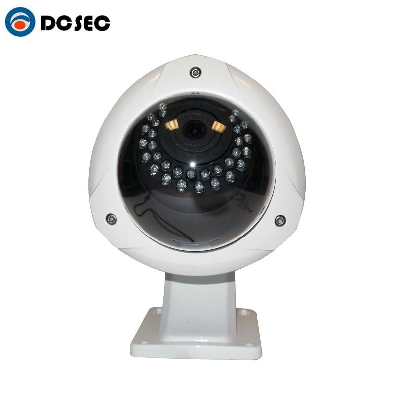 Outdoor Hd Sdi Camera Fisheye 360 Degree Len 1080p 2 0