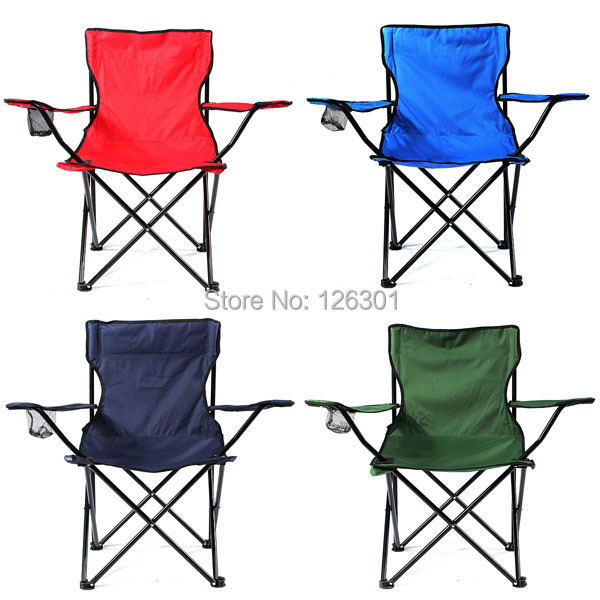Outdoor Folding Available Fishing Chair Seat w/ Carry Bag&Cupholder(China (Mainland))