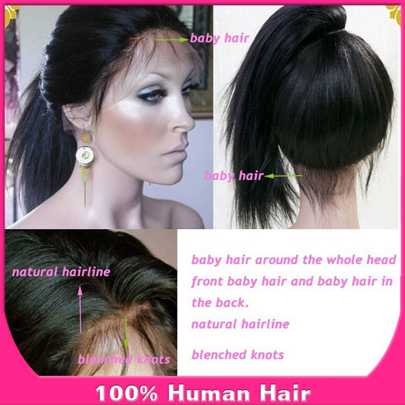 Brazilian Full Lace Wigs With Baby Hair Full Lace Wig Brazilian