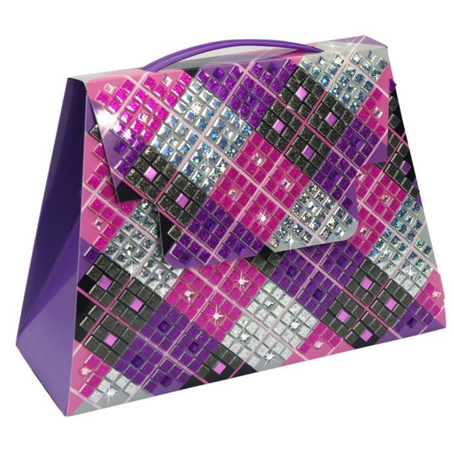 Diy toy Fashion hand bag  Argyle Purse