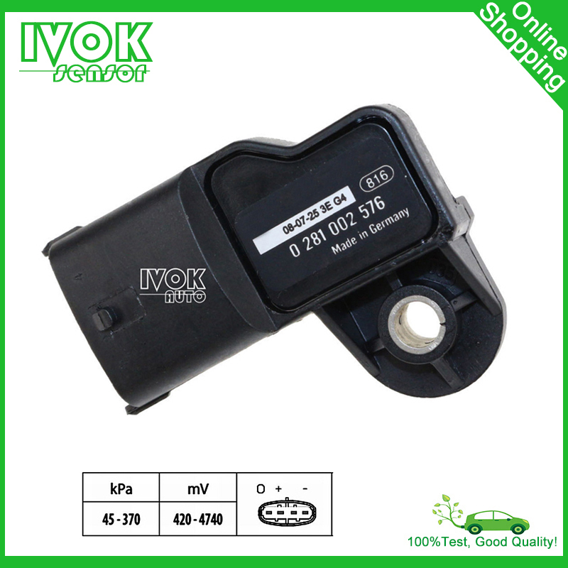 Map Sensor For Renault Trucks Kerax Magnum Midlum Premium 5010437653 50 10 437 653 7420524936 5010450894(China (Mainland))