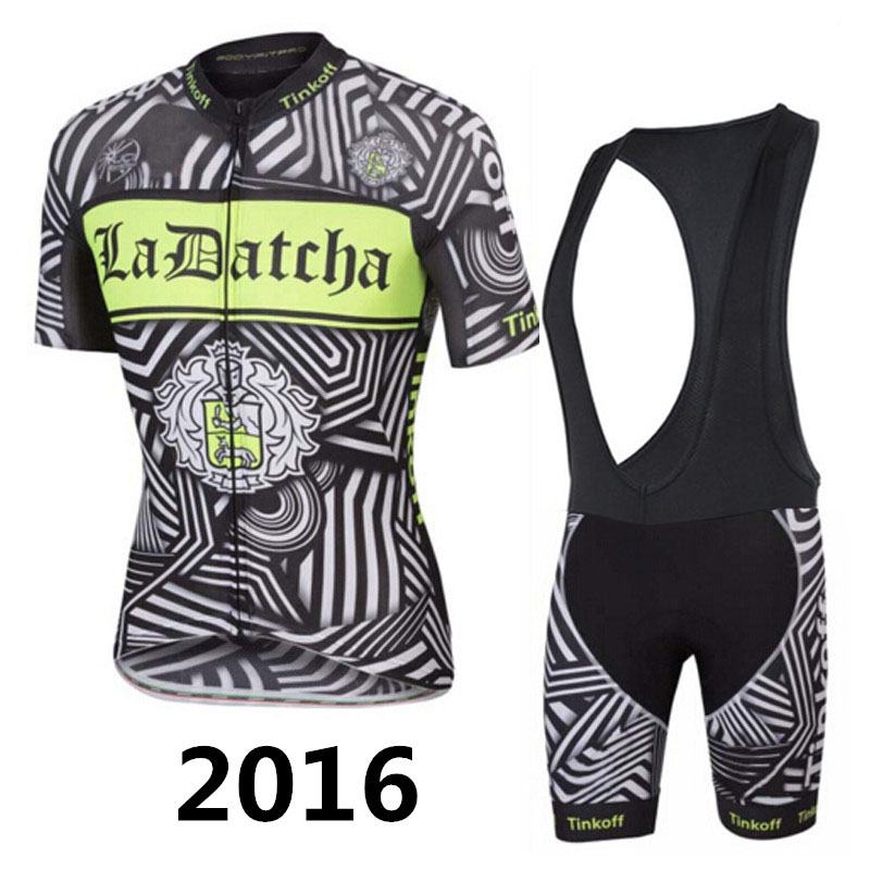 2016 Team Tinkoff Saxo Bank Cycling Jerseys Ropa Ciclismo Mtb Bike Clothes Fluo Bicycle Clothing Sportwear(China (Mainland))