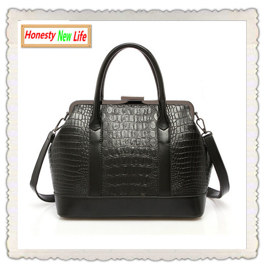 Luxury Vintage Crocodile Hasp Handbag 2015 hot sale female retro leather designer inspired brand shoulder bag sac a main women 3<br><br>Aliexpress