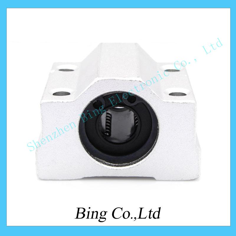 4pcs/lot 3d printer SC8UU Linear Ball Bearing XYZ Table CNC Router SCS8UU 8mm for 3d printer(China (Mainland))