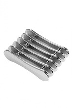 Silver Nail Art Makeup Brush Pen Holder Stand Rest Acrylic UV F OS