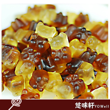 Fudge Gummy bear candy Cola bears food 200g sweets and candy food Office casual snacks free shipping 2F310(China (Mainland))