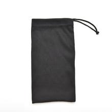 1 Pcs Black Sunglasses Bag Microfiber Dust Storage 17*8.5cm Pouch Glasses Carry Bag Portable Eyewear Accessories(China (Mainland))