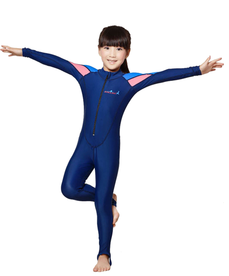 Free Shipping swimming dress Kids boys girls snorkeling clothing childrens sun protection clothing child diving suit wetsuits<br><br>Aliexpress