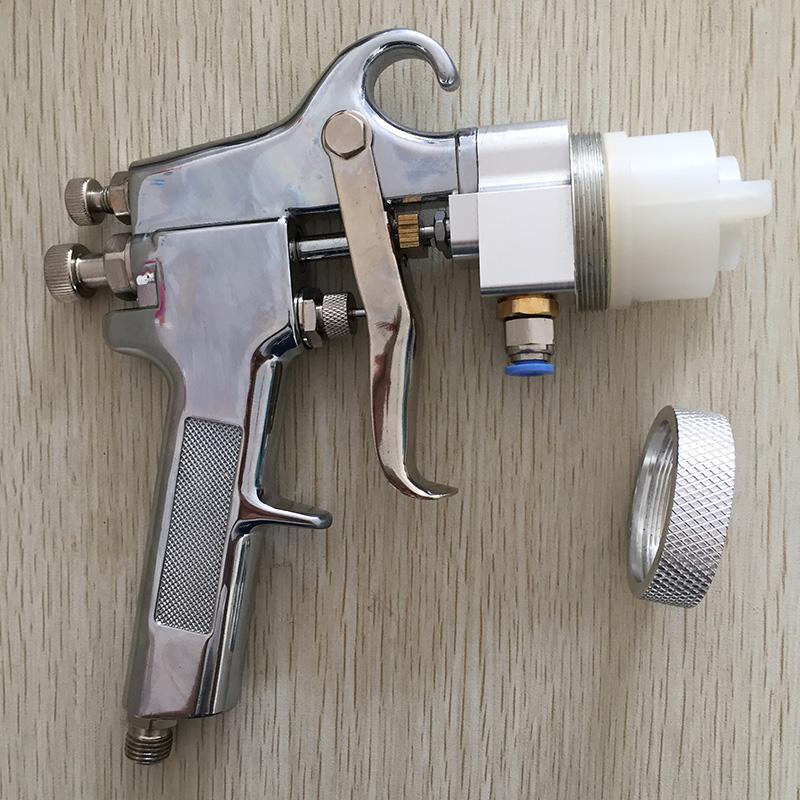 SAT1182 High Quality Professional Mirror Chrome Paint Adjustable Air Pressure Regulator Spray Gun Spray Foam Gun Machine(China (Mainland))
